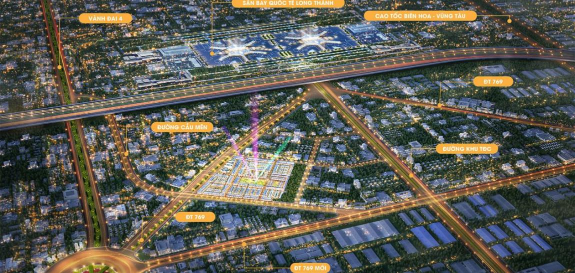dự án đất nền century city long thành