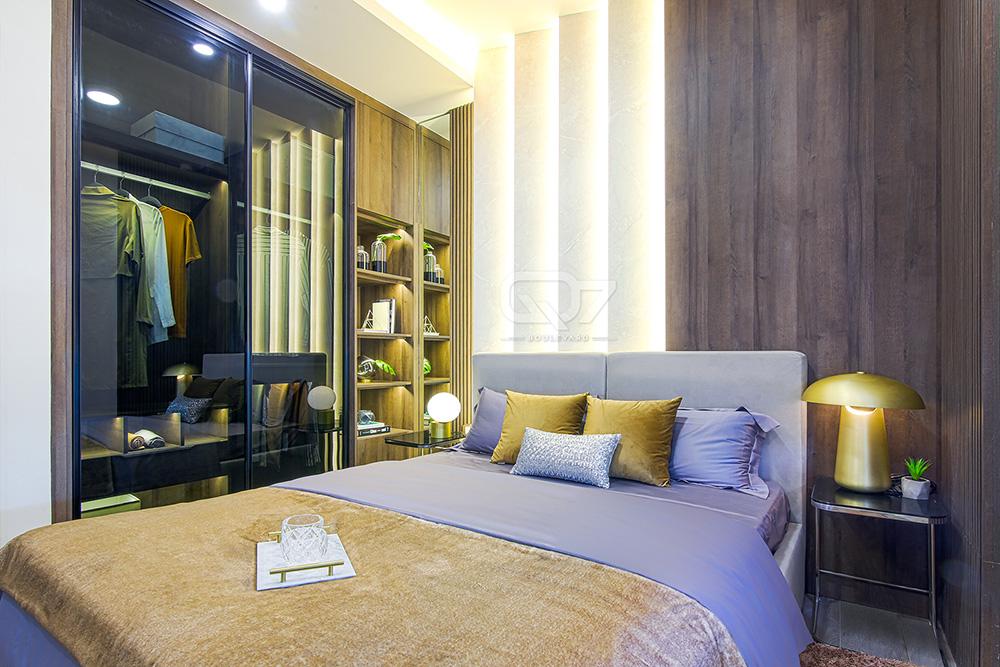 Hình ảnh căn hộ mẫu Q7 Boulevard quận 7 Hưng Thịnh