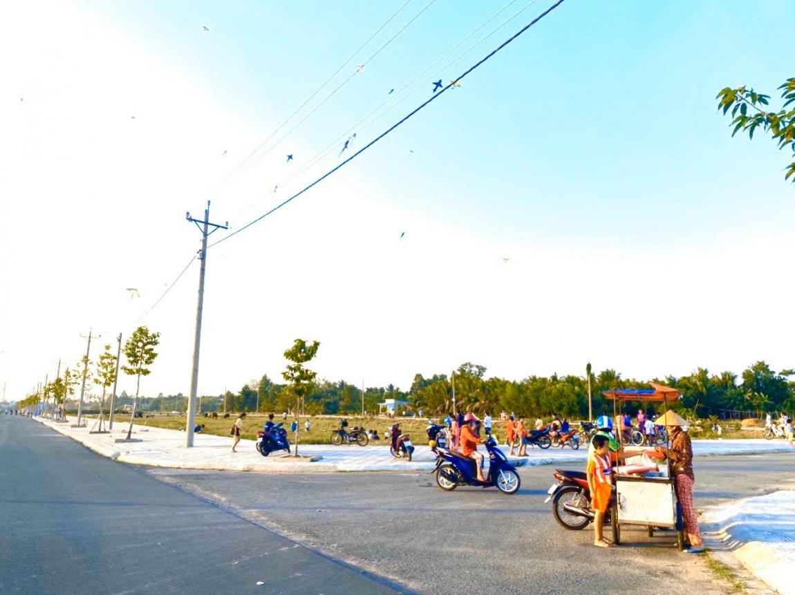 hình ảnh thực tế dự án vĩnh long new town 3