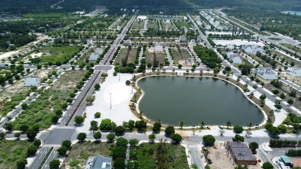 hình ảnh thực tế dự án golden bay cam ranh
