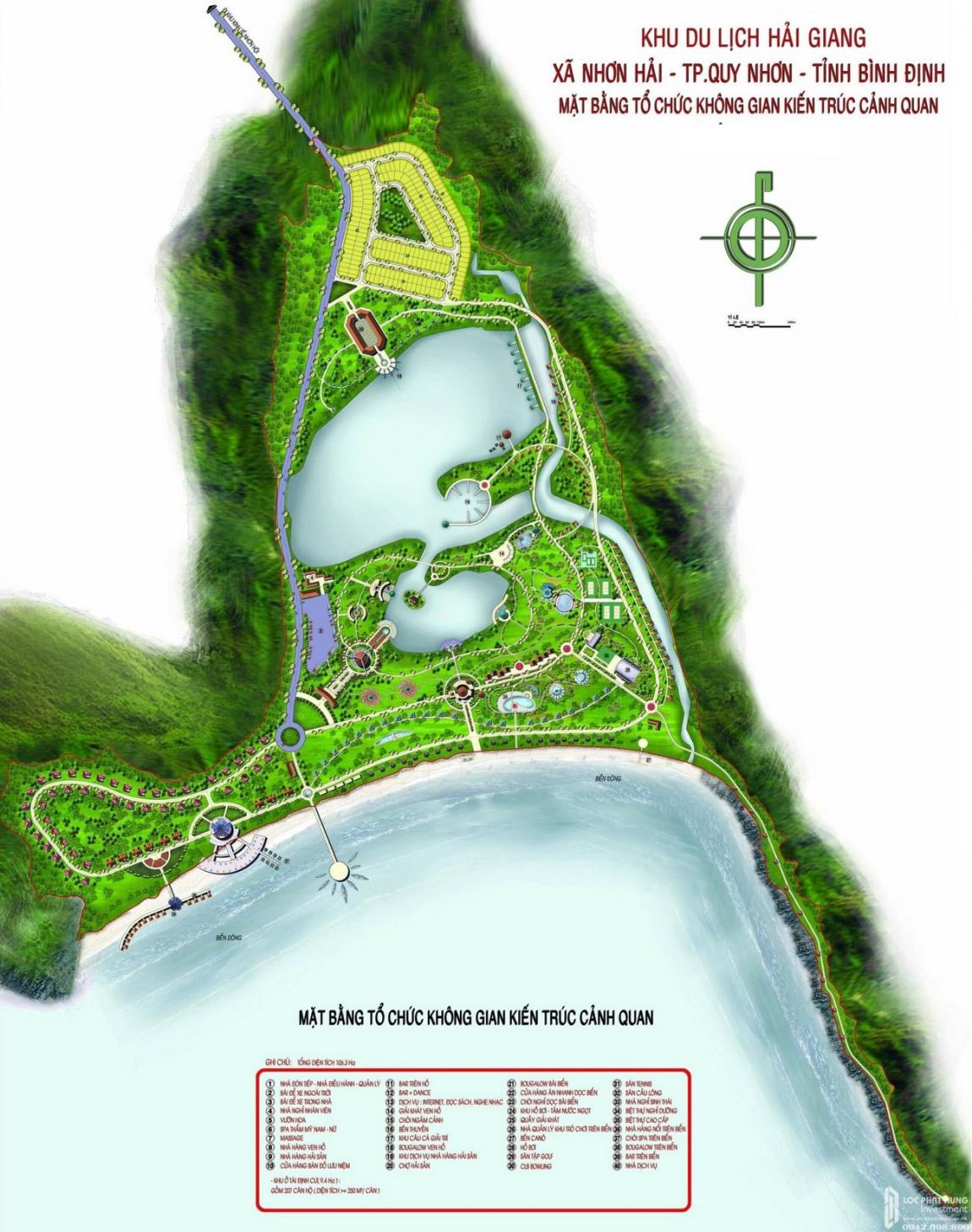 mặt bằng phối cảnh dự án hải giang merry land
