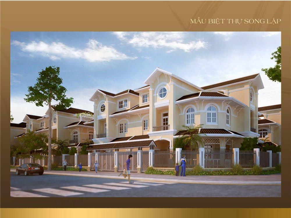 mẫu thiết kế nhà tại dự án golden bay cam ranh 1