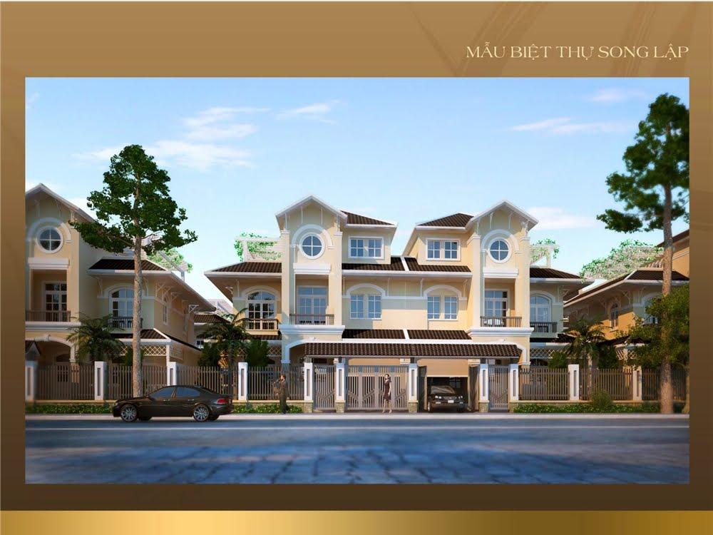 mẫu thiết kế nhà tại dự án golden bay cam ranh