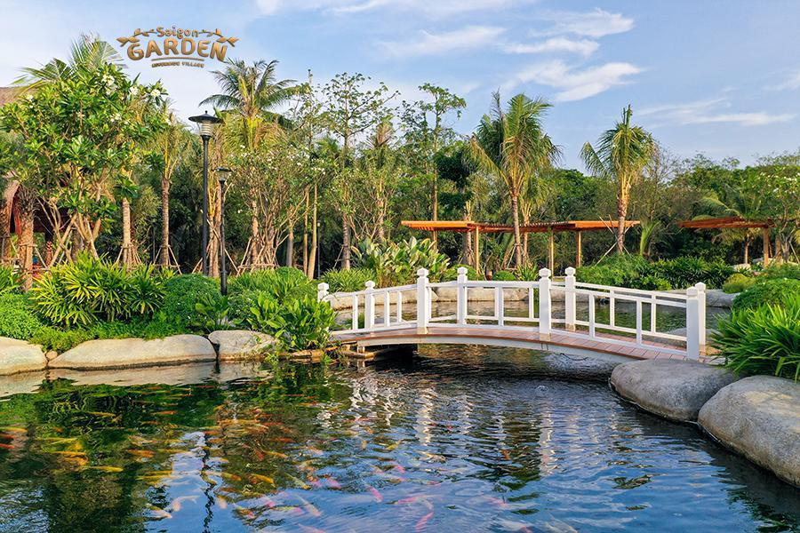hình ảnh thực tế dự án biệt thự vườn saigon garden riverside quận 9 11