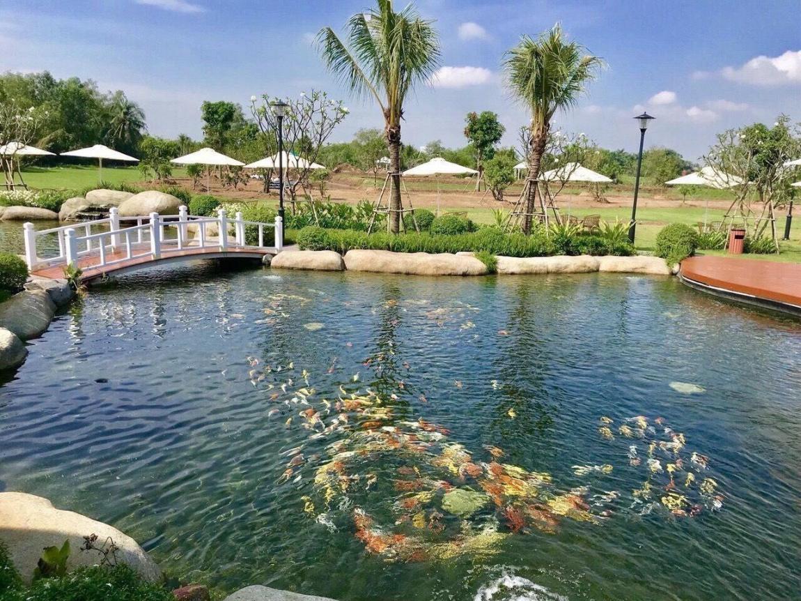 hình ảnh thực tế dự án biệt thự vườn saigon garden riverside quận 9 14
