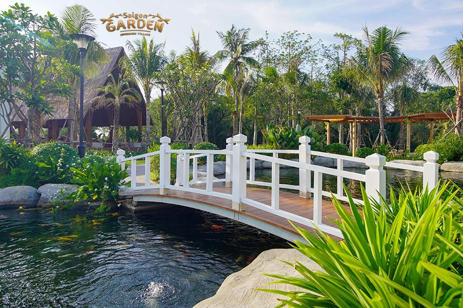 hình ảnh thực tế dự án biệt thự vườn saigon garden riverside quận 9 6