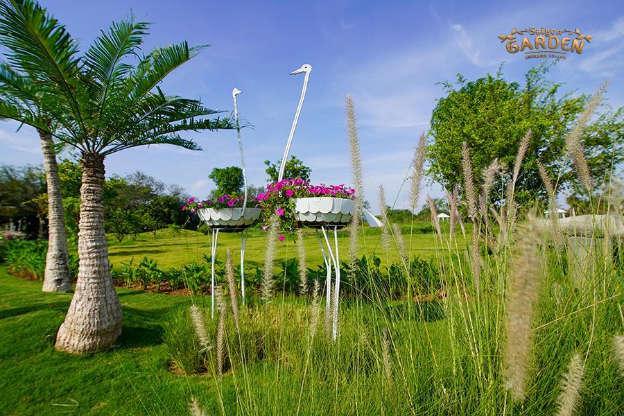 hình ảnh thực tế dự án biệt thự vườn saigon garden riverside quận 9 7