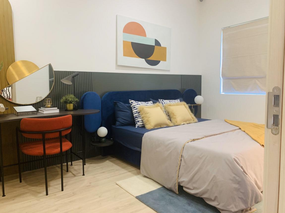 phòng ngủ căn hộ new galaxy