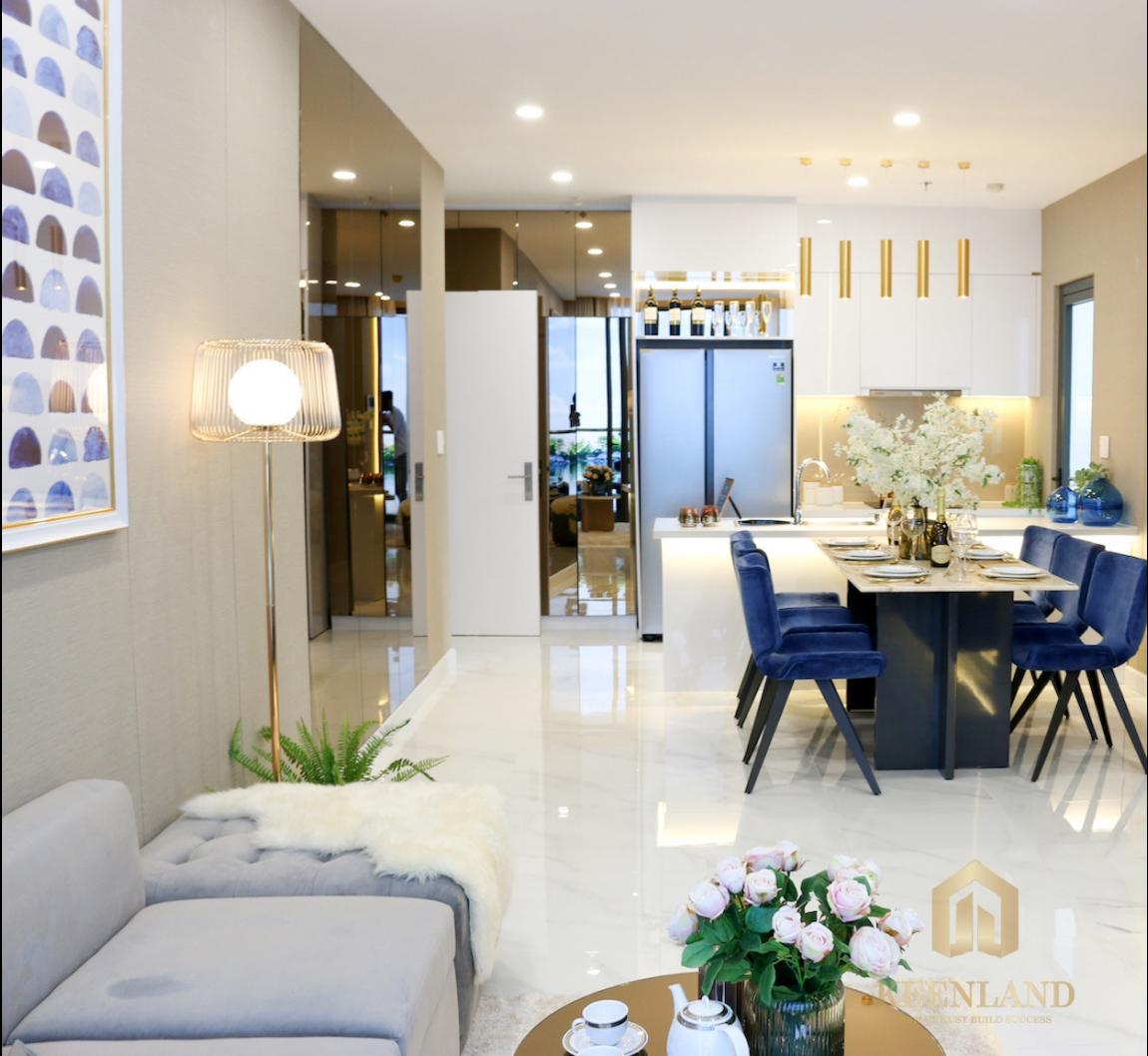nhà mẫu dự án căn hộ precia quận 2