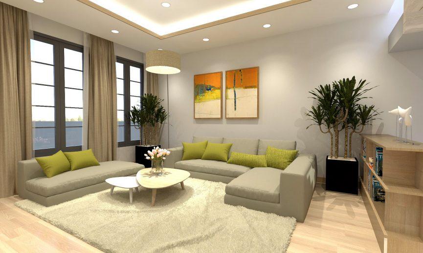 nhà mẫu dự án green lotus resident tân phú 8