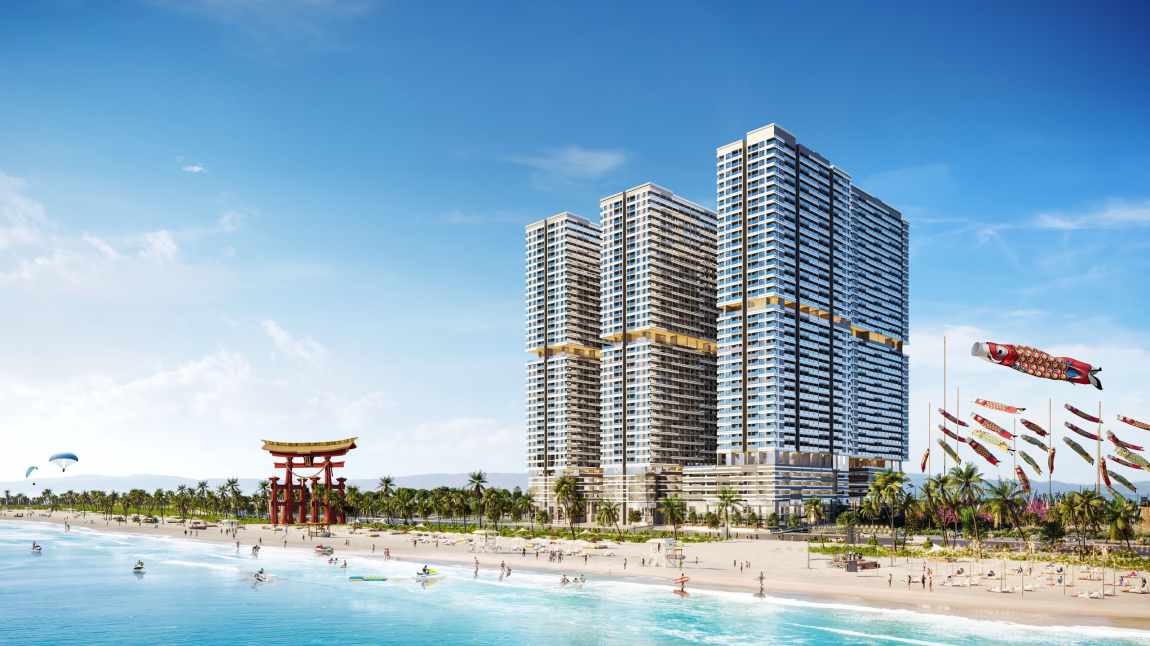 Phối cảnh căn hộ Takashi Ocean Suite