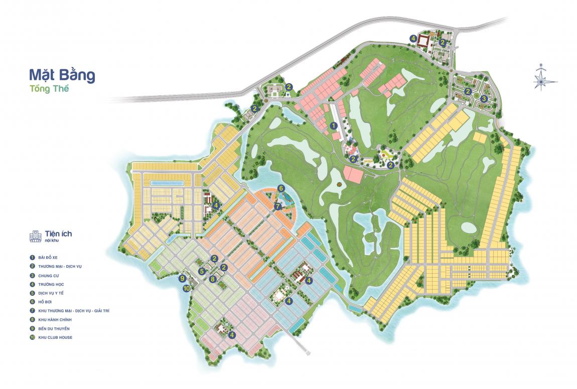 Phối cảnh tổng thể dự án Biên Hoà New City