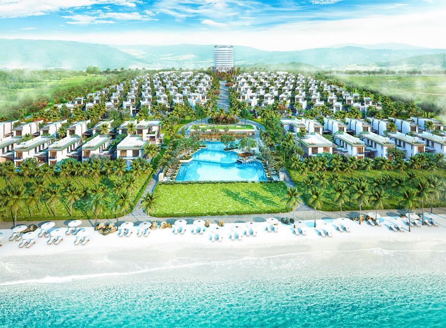 Phối cảnh tổng thể dự án Cam Ranh Mystery Villa
