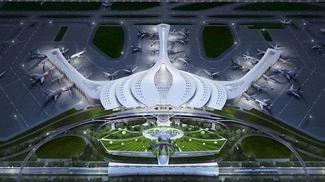 hình ảnh sân bay quốc tế long thành biên hoà new city