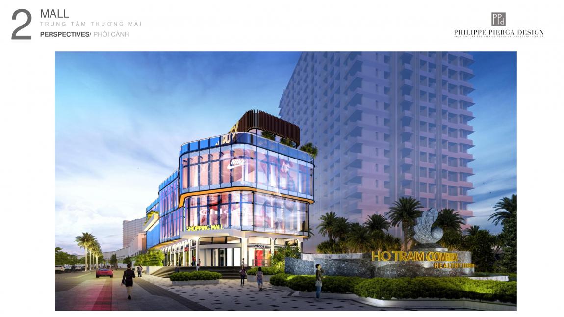 shop house dự án hồ tràm complex