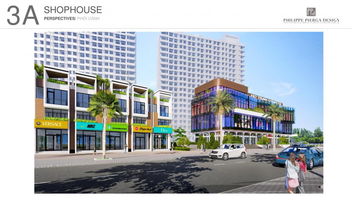 shop house dự án hồ tràm complex 4