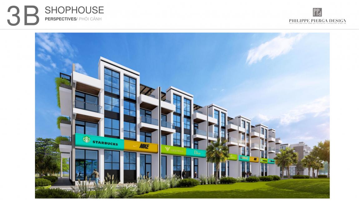 shop house dự án hồ tràm complex 6