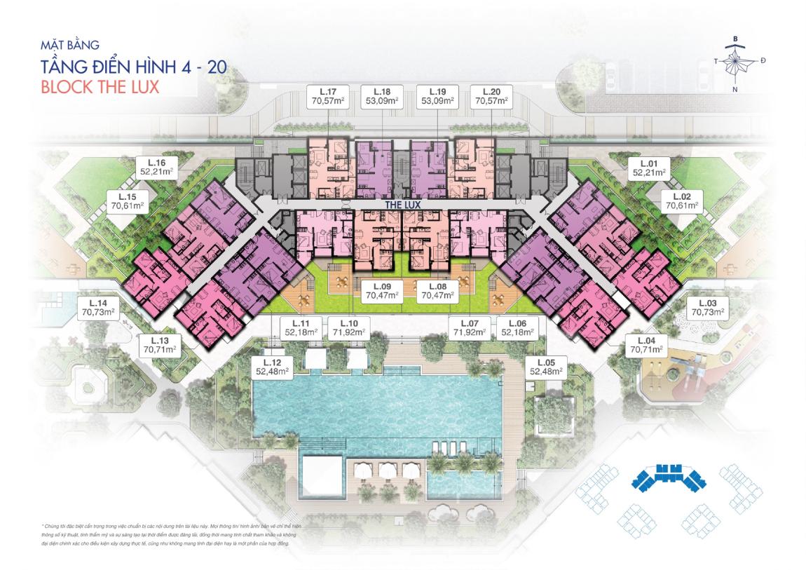 thiết kế căn hộ new galaxy nha trang 6