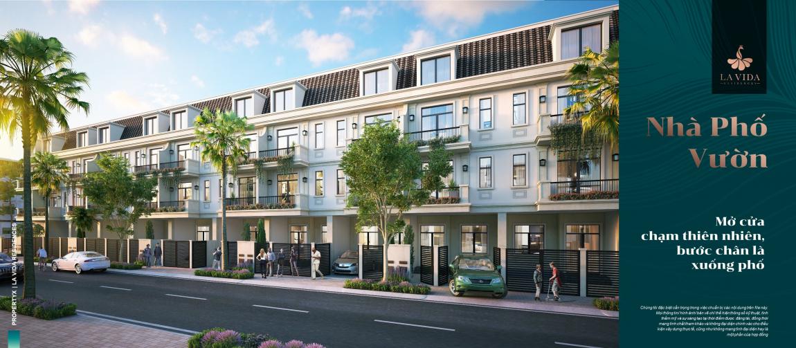 thiết kế nhà phố dự án lavida residences 3