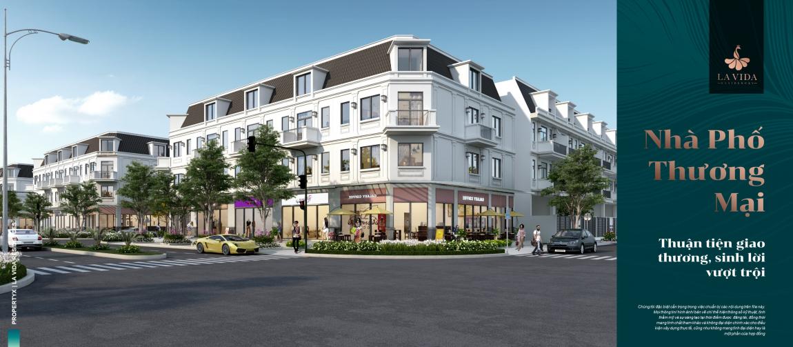 thiết kế nhà phố dự án lavida residences