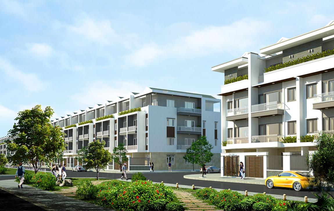 Hình ảnh phối cảnh dự án Vĩnh Long New Town