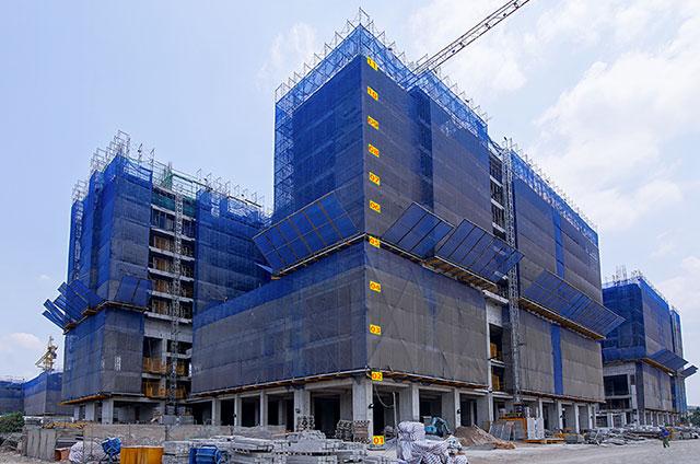tiến độ thi công căn hộ q7 saigon riverside tt