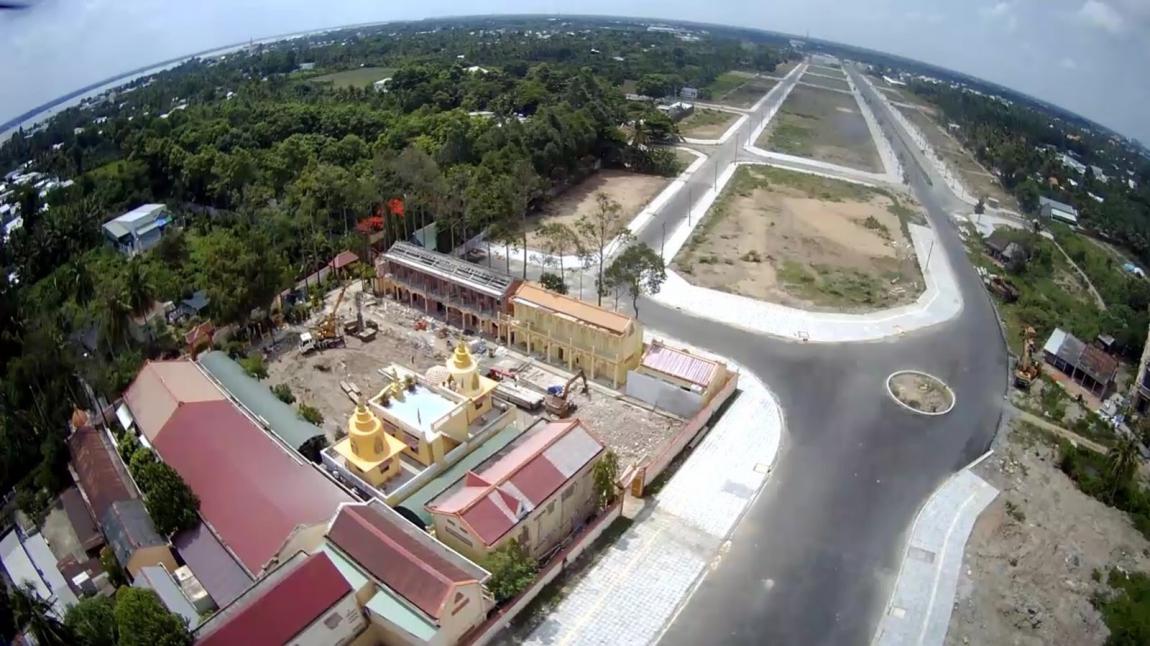 tiến độ dự án vĩnh long new town 2