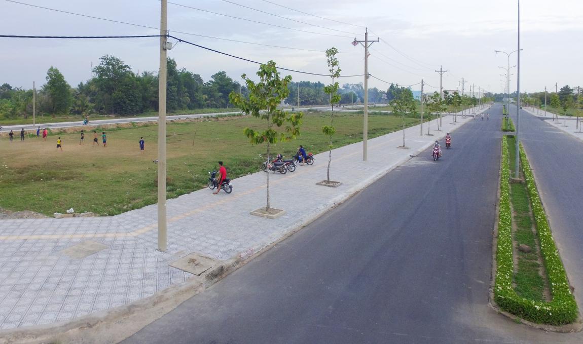 tiến độ dự án vĩnh long new town 5