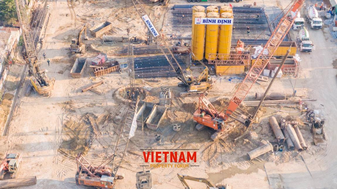 tiến độ thi công dự án căn hộ vũng tàu pearl 10