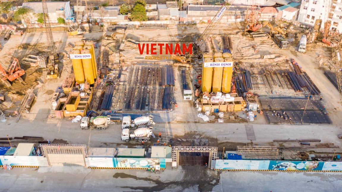 tiến độ thi công dự án căn hộ vũng tàu pearl 11