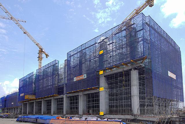 tiến độ thi công dự án căn hộ q7 saigon riverside đường đào trí 4