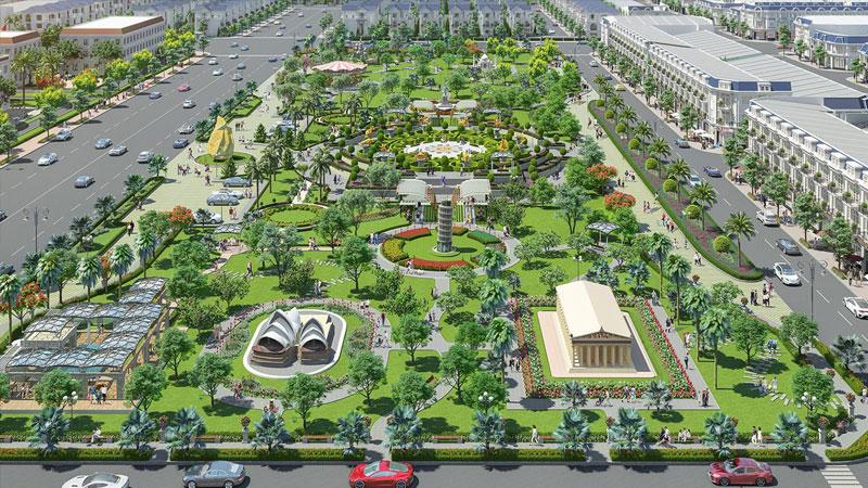 tiện ích khu dự án century city 1