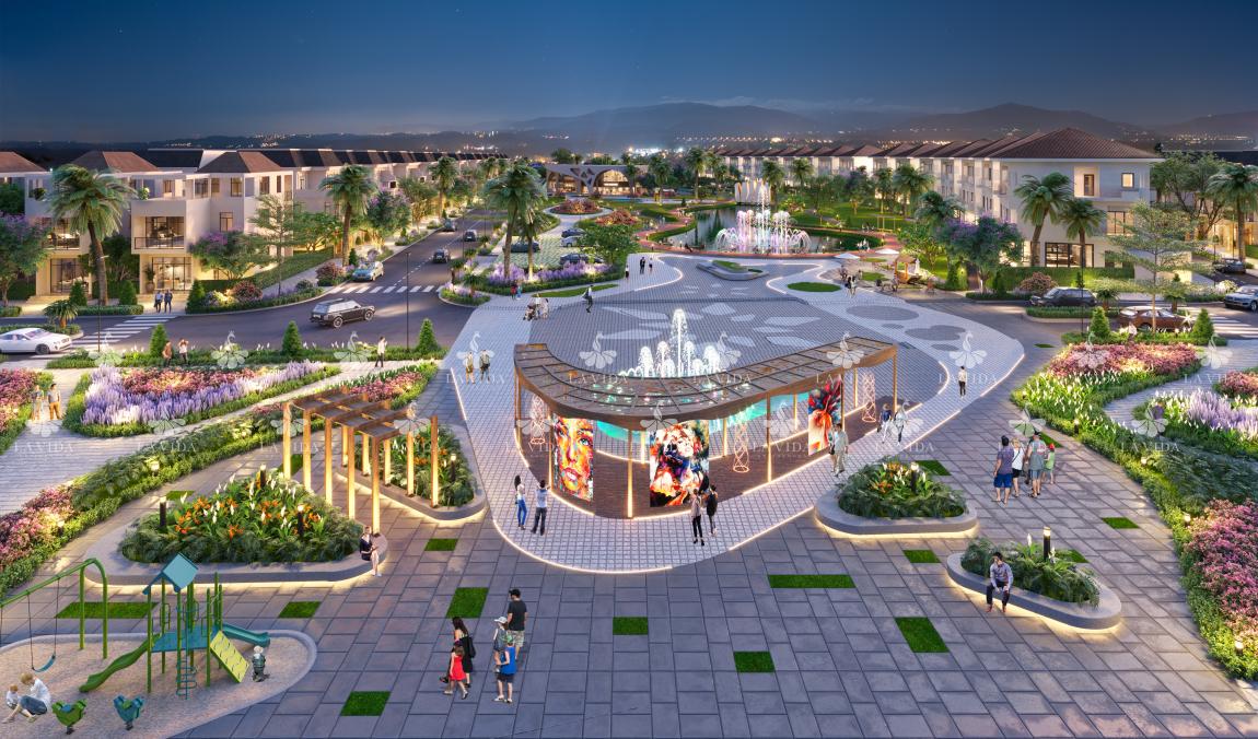 tiện ích dự án lavida residences