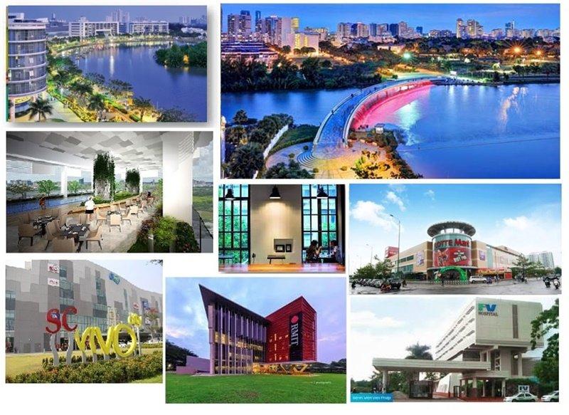 Tiện ích ngoại khu căn hộ Q7 Saigon Riverside