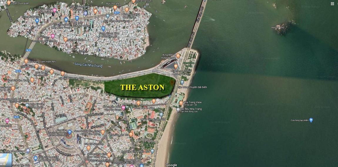 Vị trí độc tôn có 1 không 2 của dự án căn hộ The Aston Nha Trang