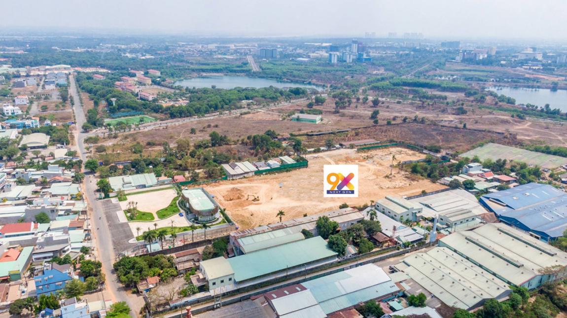 Vị trí thực tế tại dự án căn hộ 9x Next Gen Bình Dương Hưng Thịnh