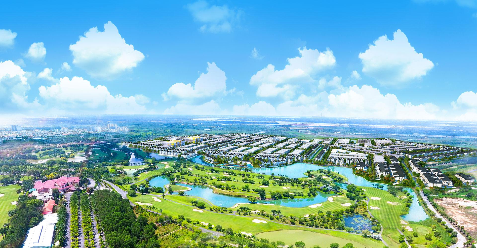 hình ảnh thực tế dự án biên hoà new city
