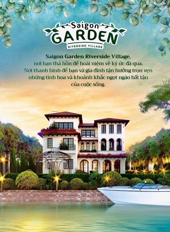biệt thự vườn saigon garden quận 9