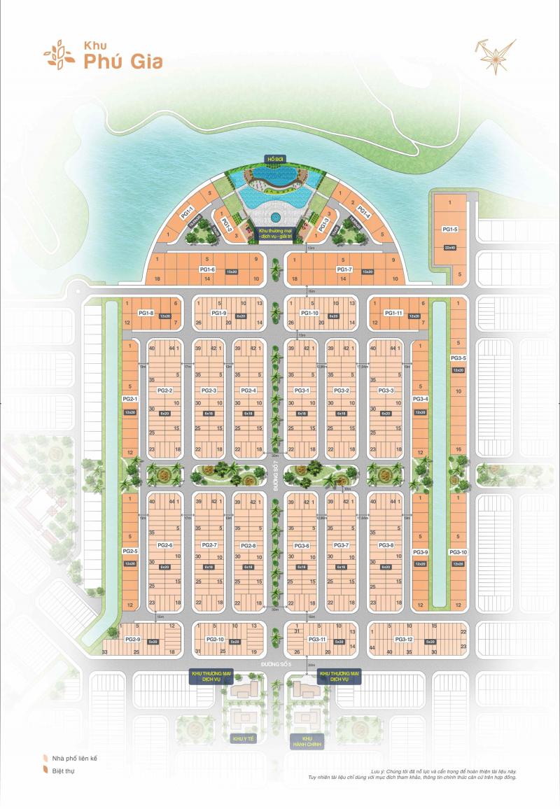 mặt bằng phân lô dự án biên hoà new city 2