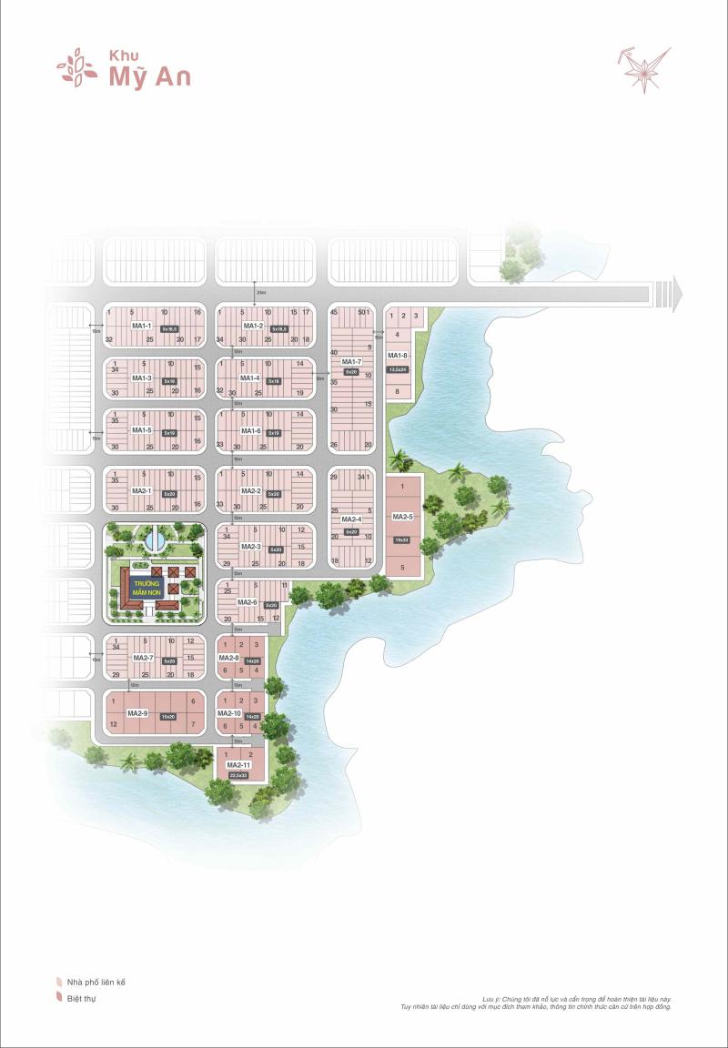 mặt bằng phân lô dự án biên hoà new city 5