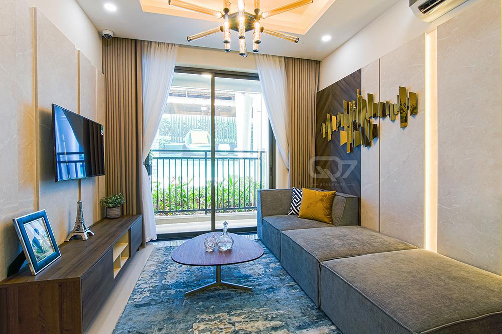 hình ảnh nhà mẫu căn hộ q7 boulevard 1