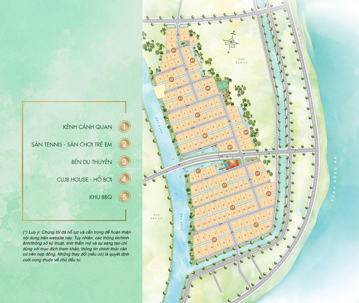 mặt bằng phân lô dự án saigon garden quận 9