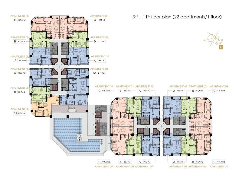 thiết kế căn hộ condotel liberty quy nhơn 1