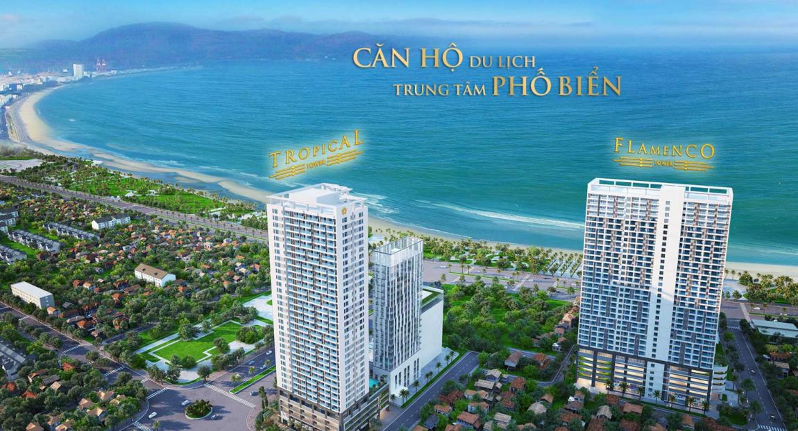 Phối cảnh tổng thể dự án căn hộ Melody Quy Nhơn