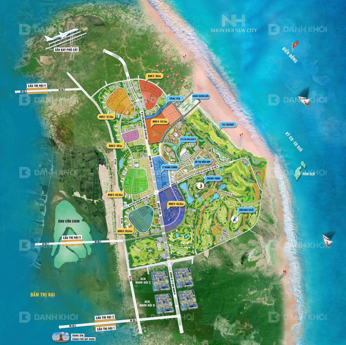 Giao thông kết nối dự án Takashi Ocean Suite