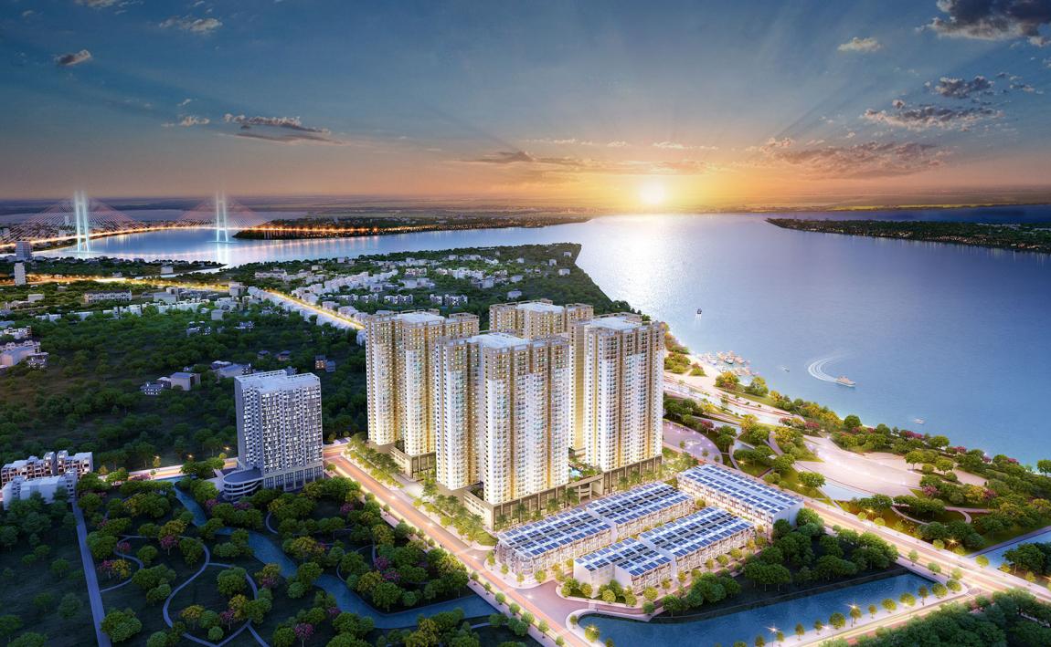Phối cảnh dự án căn hộ Q7 Saigon Riverside Quận 7
