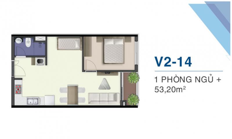 thiết kế căn hộ q7 saiogn riverside