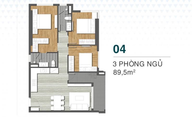 thiết kế chi tiết căn hộ grand center quy nhơn