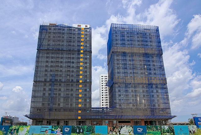 tiến độ thi công căn hộ q7 boulevard