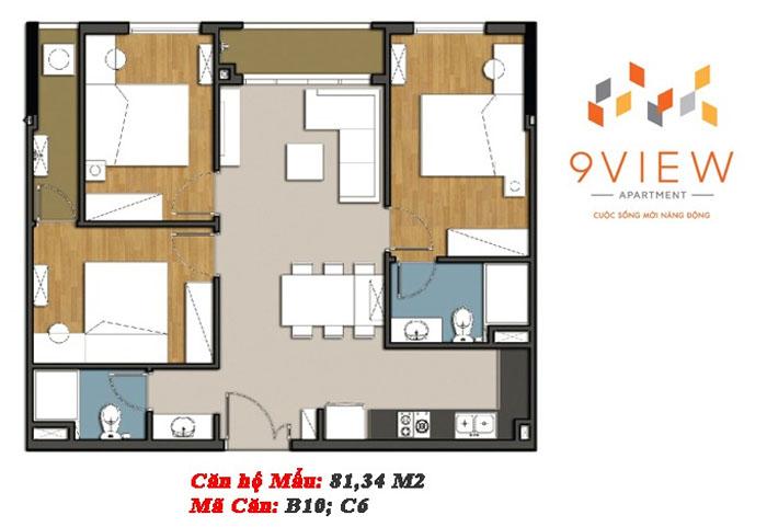 mẫu căn hộ 9 view 3
